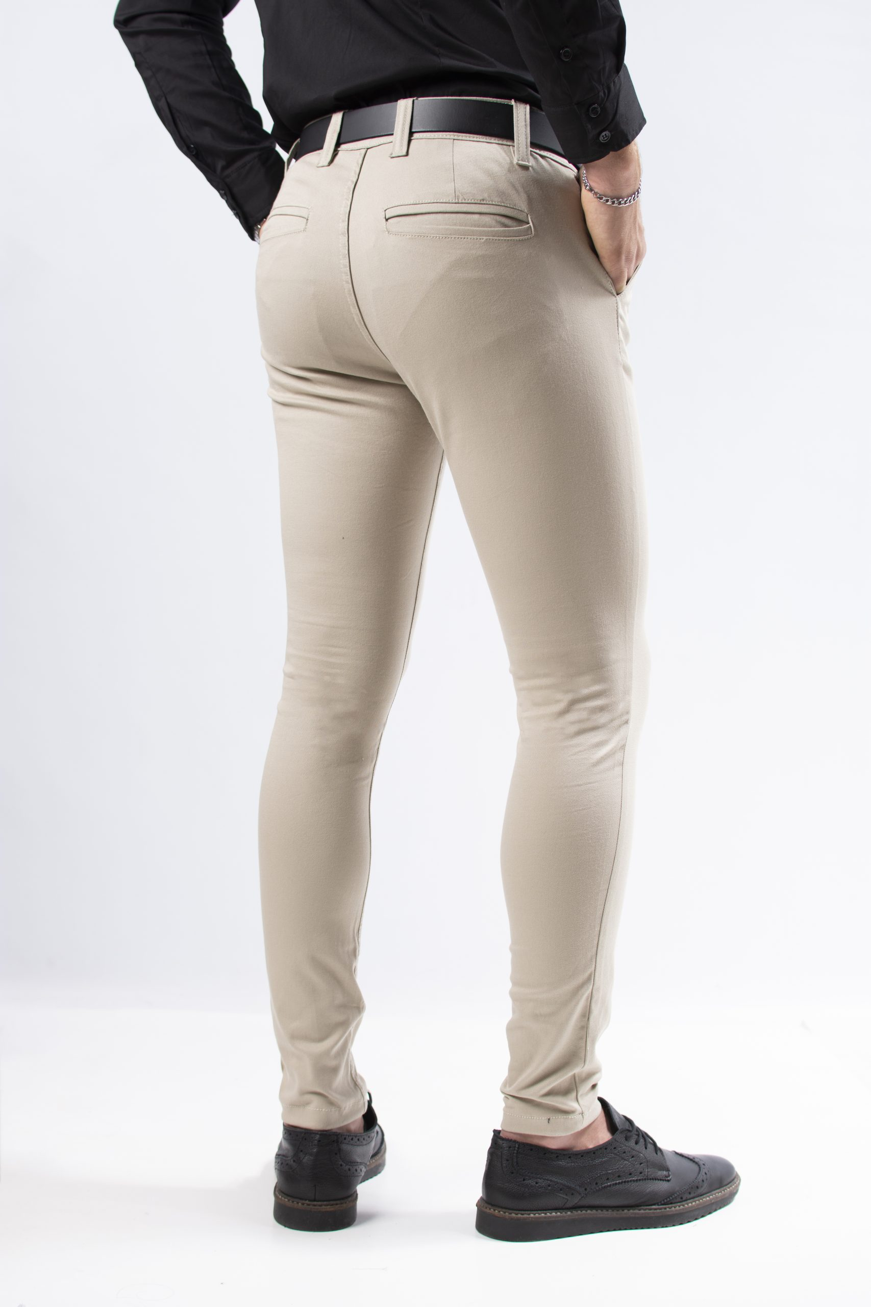 Pantalon Corte Chino Beige Jc Moda Tienda Online